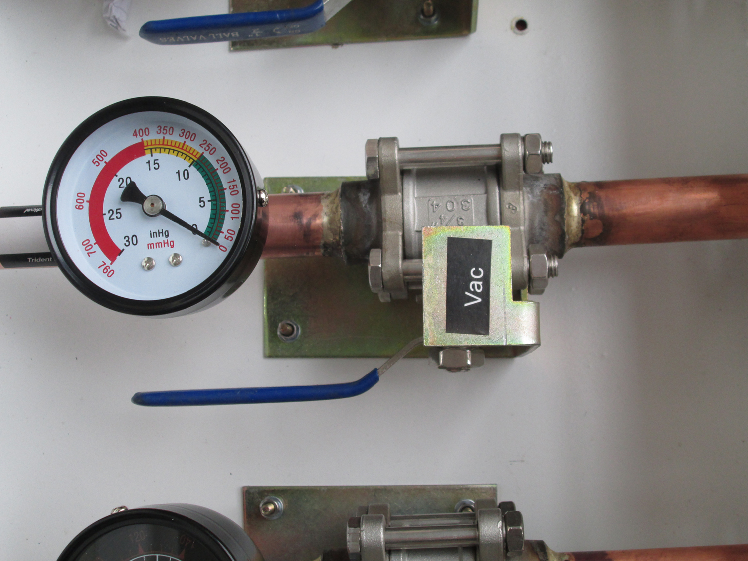 Zone Valve With Box stainless